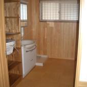 洗面所と洗濯機置場