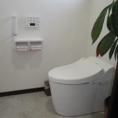 腰の負担が少ない洋式トイレになりました。