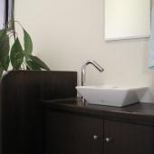 洗面台も新しくなりました。