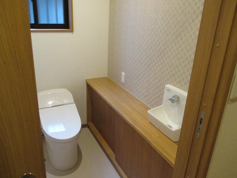 トイレはきれいで清潔であるように設計しました。